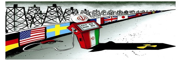 Iran's empty gas pump