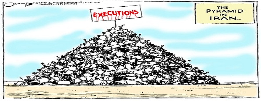 executions pyramid in Iran