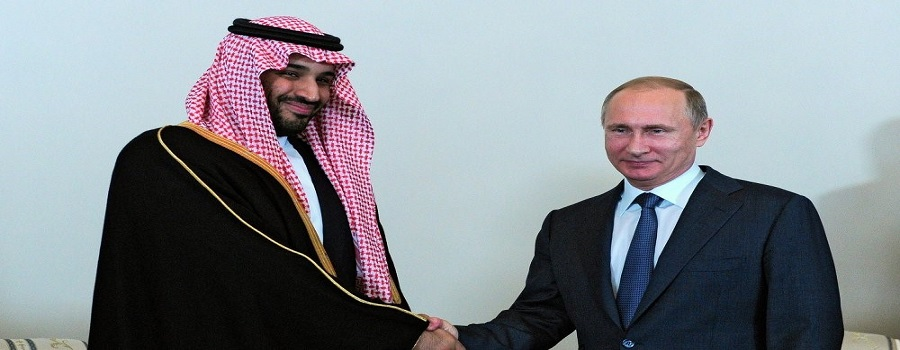 A meeting between Russian President Vladimir Putin and the new Saudi Defense Minister Mohammed bin Salman al-Saud took place in Sochi.