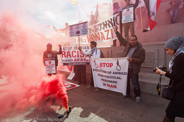 May Day Rally in Trafalgasr Square, London, UK