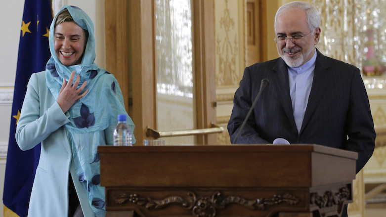 Delegation of European Commissioners in Iran
